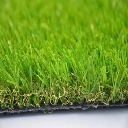 L'aménagement paysager de l'herbe artificielle de gazon artificiel de luxe (AS)