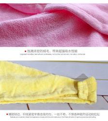 De sneldrogende Schoonmakende Handdoeken van Katoenen Microfiber van het Haar