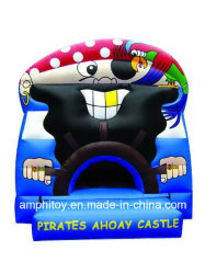 Le capitaine pirate Inflatable Bouncer/Inflatable Kids Play House