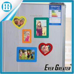 사랑형이나 직사각형 프레임 냉장고 자석 사진 찍어주세요