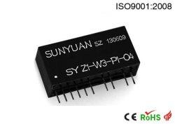 Serie di Sy Z-W-P-O del trasduttore del segnale di resistenza termica di Rtd (PIN SIP12)