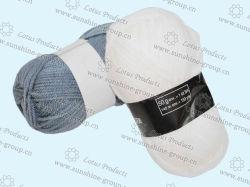 Lane di lavoro a maglia acriliche del filato per maglieria di 100%