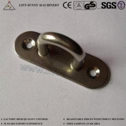 304 316 o aço inoxidável da placa do Anel Elástico Oval oblonga