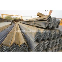 Ss400 en acier de la norme JIS angles de barre d'angle structurel