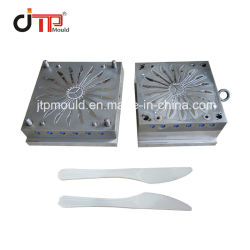 Taizhou Huangyan JTP Kitchenware Disposable 40 Cavities Plastic Knife Mold (タイチョウ・黄ワイヤン JTP キッチウェア