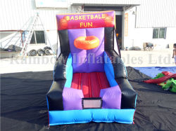 Juego de disparo de Baloncesto inflables inflables Juego de carnaval