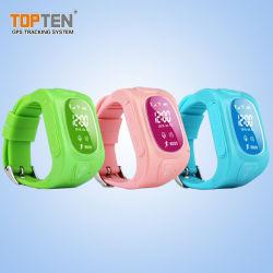 الهاتف المحمول/الهاتف المحمول GPRS من GSM الشخصي مشاهدة GPS Tracking/Tracker for Kids/Children (WT50-KH)