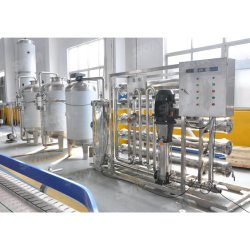 순수한 마시는 병 광수 플랜트를 위한 RO 그리고 UV 플랜트를 가진 가득 차있는 자동적인 산업 갱도 구멍 급수 여과기 처리 정화 시스템 기계