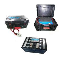 Настройка портативного Li-ion/литий/ LiFePO4 Аккумулятор OEM 12V 40AH 50AH 100 Ач, 150 Ач, 150 Ач для E-автомобиль аккумуляторную батарею для установки вне помещений