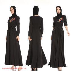 2020 Nuevo Diseño Venta al por mayor de alta calidad Canadá Hot ropa islámica, las mujeres musulmanas Kaftan Abaya robe el Hijab Caftan Maxi vestidos de la fábrica de prendas de vestir