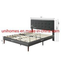 홈 가구 가죽 침대 마이크로 섬유 가죽 침대 PU 침대 직물 침대