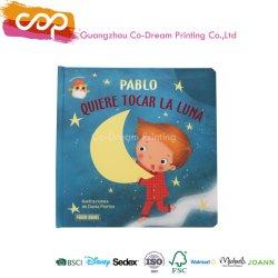 Commerce de gros comique personnalisée Kid Conseil rembourré en impression de livres pour enfants livre