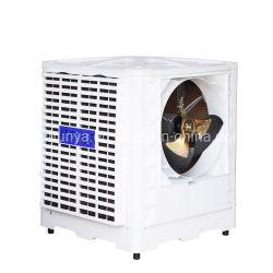1,5kW 22000m3/H industrieller axialer Verdunstungsluftkühler, PP-Kunststoffgehäuse Dach Wand montierter Verdunstungsluftkühler für Freiraumkühlung