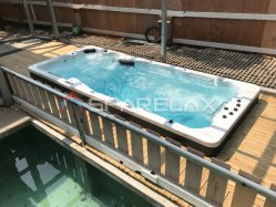 Openlucht Jacuzzi 4 Person Swim SPA Zwembad