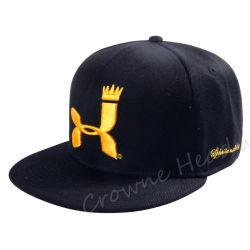 新しい方法平らな縁のスナップは遊ぶまたはスポーツ時代の刺繍のお父さんは野球帽の帽子をキャップする
