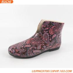 preço de fábrica na Rússia Chuva de borracha calçados para Mulheres