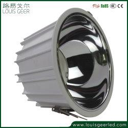 Старший регулируемый угол наклона 25W энергосберегающая лампа встраиваемый Потолочный светодиодный индикатор набегающей початков / микросхемы для поверхностного монтажа потолочного фонаря вниз