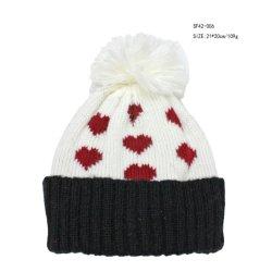 المرأة طفل 100% اكريليك Winter Hat الحفاظ على الحرارة تخصيص خبير الطلب ، مرحبا بك زيارة لنا جاكار ريد قلب الحلي الشركة المصنعة
