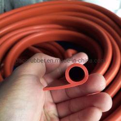P-vormige rubberen afdichtstrip voor vaste siliconen weerbestendig venster Portierrubber