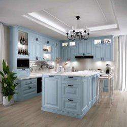 Nuevo estilo de PVC Membrance Alemania Cocina Muebles de hogar Venta al por mayor