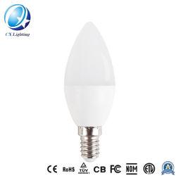 Lampadina chiara della candela di telecomando della lampadina di Dimmable RGB LED