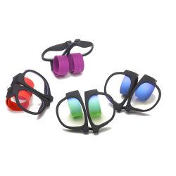 El logotipo de color de moda personalizada bofetada para Slapsee gafas de sol Gafas de sol en contra de la luz azul bofetada Ver gafas