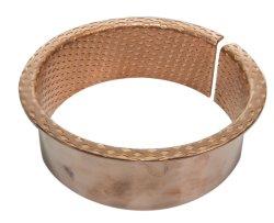 転送された金属の袖のダイヤモンドオイルのソケットによって包まれる青銅色のフランジのブッシュ