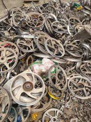 محور عجلة/حافة عجلة النفايات من الألومنيوم عالي الجودة للبيع
