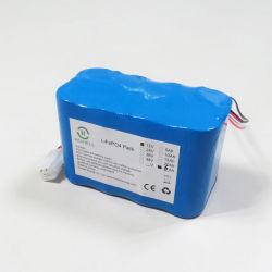 LiFePO4 12V 6Ah Bateria de lítio para luz de emergência Holofote LED UPS e backup