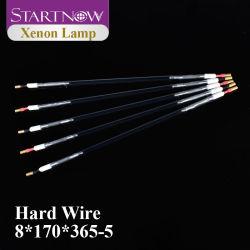 Startnow Xe 8*170*365 Laser Xenon Lampe ND YAG Laserröhre Xenon-Lichtbogenlampe Flash Impulslampe für Faserlaserschneiden Ersatzteile Für Maschinen