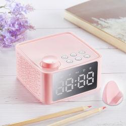 B1 Alto-falante Bluetooth Placa de rádio relógio com alarme duplo Desktop Dom multifuncional de alto-falante