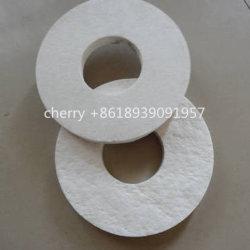 Isolamento termico in fibra ceramica silicato di alluminio tappetino agugliato per componenti elettrici