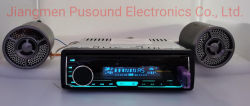 Transmisor de sonido con reproductor de audio para coche Bluetooth USB MP3 FM