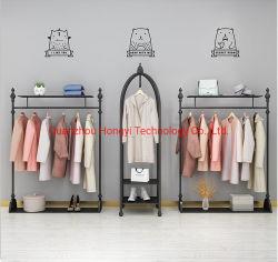 여성 골동품 의류 벽 전시 캐비닛 의류 상점 디자인 상점 인테리어 디자인