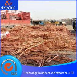 99,99%sucata de fio de cabo de cobre com preço competitivo