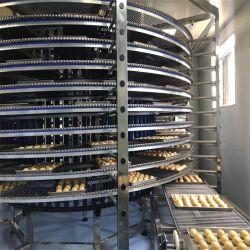 Pizza Industrial/Ice Cream/Dumpling/pan único de congelación rápida espiral congelador tipo Blast Freezer