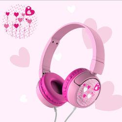 Fbbe-006 헤드폰 사용자 지정 로고 귀여운 어린이 헤드폰 헤드셋 유선 헤드폰