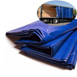 100% poliéster tejido revestido de rollo, lona de PVC reforzado, resistente al agua la lona de PVC lonas