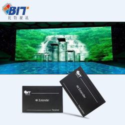 CAT6을 통해 4K60 고품질 Rx Tx HDMI 익스텐더를 지원합니다 고품질 RJ45 네트워크 확장기