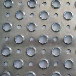스테인리스 스틸 304 바닥에 천공된 뾰루드 플레이트 미끄럼 방지 메시 플랫폼