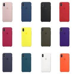 Оригинальный силиконовый чехол для iPhone с мягкой и гладкой коснитесь чехол для мобильного телефона