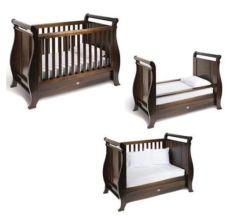 [3-ين-1] قابل للتحويل طفلة جون سرير, الماشي بخطى متثاقلة سرير تحميل عدة
