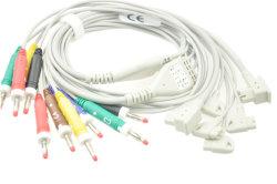 Philips Trim1/2/3 EKG-kabelafleidingsdraden, 10-afleidingen EKG-afleidingsdraden, IEC