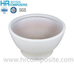 Clarabóias de plástico reforçado por fibra de plantadeira Flower Pot Plantadeira GRP