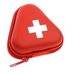 Tapa dura roja de logotipo personalizado Shell/Kit de primeros auxilios en caso de la herramienta de equipos médicos EVA caso/terciopelo con forro