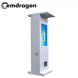 شاشة تعمل باللمس بنظام Android تعمل بنظام Android تعمل بالبوابة الذكية شاشة عرض LCD Tvcf Card Advertising Player بوصة بدقة Full HD تبلغ 1080p مشغل إعلانات Bus LED