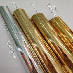 Прозрачные голографические горячей штамповки сетку для бумаги плата 0.64м * 120m голограмма ламинирование голографической фольги