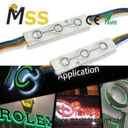 Ce/RoHS фокусировки 0,72 W водонепроницаемый SMD 5050 RGB светодиодный модуль для акриловой логотип знаки/металла логотипы