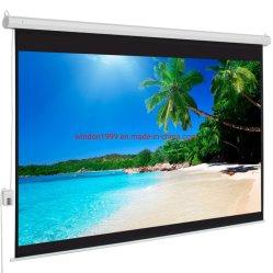 Кинотеатр экран проектора с электроприводом экран