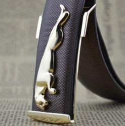 Custom оптовая oem персонализированные роскошный мужской ремень из натуральной кожи
